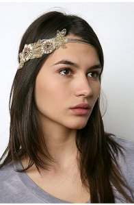 Urban Outfitters Feather Headband