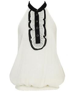 Chrinkle blouse at Forever 21