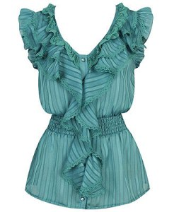 Ruffle top Forever 21