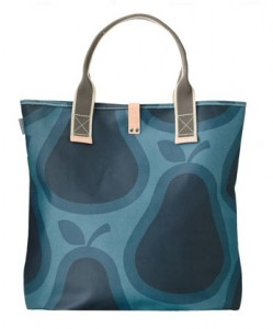 Orla Kiely Pear Beach bag