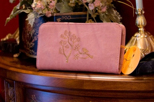 Dusty Rose Tweet Wallet