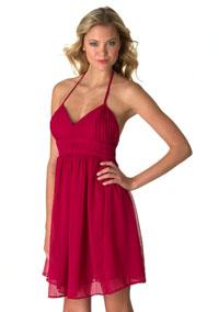 "Alloy ""Chiffon Halter Dress"" 29.50"